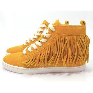 Christian Louboutin Frangine Crosta Sneakers 36